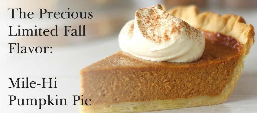 Mile-hi pumpkin pie