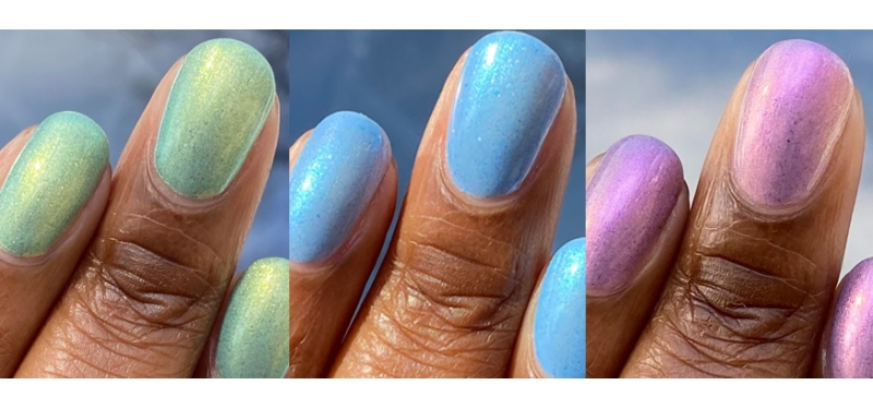 spring shimmers trio